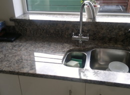 Silestone zynite quartz kitchen worktops