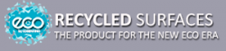 Eco recycled worktops and surfaces colours