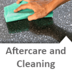 Caesarstone aftercare and cleaning