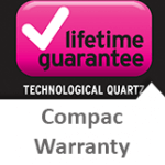 Compac Lifetime warranty