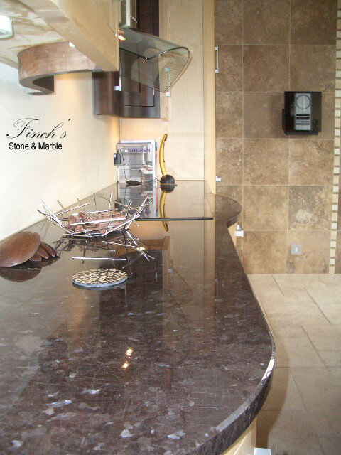 antique brown granite worktops