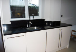 silestone stellar negro kitchen worktop